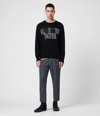 AllSaints Together Crew Sweater