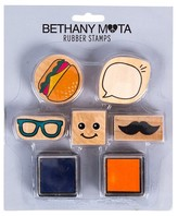 Horizon Bethany Mota Mustache Rubber Stamps with Ink