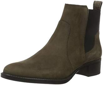 Marc O'Polo Women's 61012785102203 Mid Heel Chelsea Ankle Boots Grau (Dark Grey 930) 6.5
