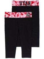 Victoria's Secret PINK University of Utah Yoga Crop Legging