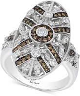 LeVian Le Vian Chocolatier® Chocolate Deco EstateTM Diamond (3/4 ct. t.w.) ring in 14k White Gold