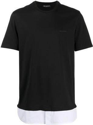 Neil Barrett layered T-shirt