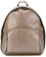 Stella McCartney small metallic Falabella backpack