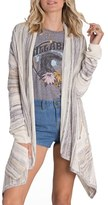Billabong Women's Beach Ramblin Stripe Cardigan