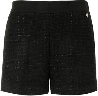 Twin-Set Tweed Shorts