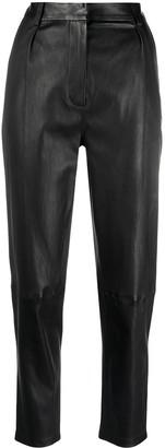 Inès & Marèchal Helios leather trousers