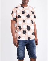 Diesel T-wallace-nb Cotton-jersey T-shirt