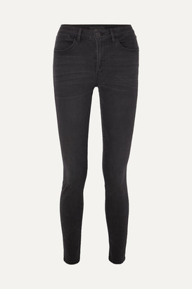 3x1 W3 Channel High-rise Skinny Jeans - Gray