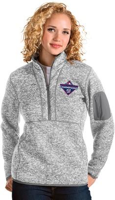 Antigua Unbranded Women's Washington Nationals Fortune Half-Zip Pullover