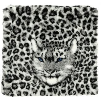 Alberta Ferretti Animal-print Eco-fur Stole