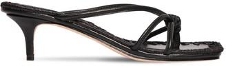 Mara & Mine 35mm Leather Thong Sandals