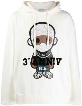 Ih Nom Uh Nit 3yr Anniv print hoodie