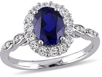 Rina Limor Fine Jewelry 14K 2.83 Ct. Tw. Diamond & Sapphire Ring