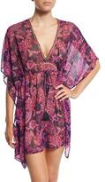 Tommy Bahama Jacobean Floral Tunic Coverup