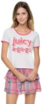 Juicy Couture Juicy A Go Go Graphic Tee