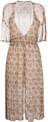 Patrizia Pepe Floral-Print Chiffon Dress