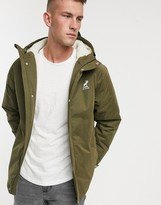 Fat Moose sherpa lined hooded parka