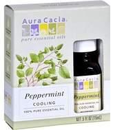 Aura Cacia Essential Oil, Peppermint, .5 oz ( Multi-Pack)