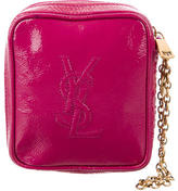 Saint Laurent Patent Leather Wristlet