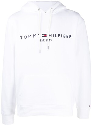 Tommy Hilfiger Embroidered Logo Drawstring Hoodie