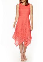 Ronni Nicole Sleeveless Lace A-Line Dress