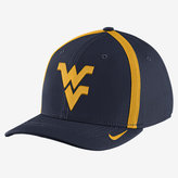 Nike College AeroBill Swoosh Flex (West Virginia) Fitted Hat