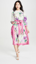 Marc Jacobs Runway Floral Scarf Print Dress