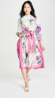 Marc Jacobs Floral Scarf Print Dress