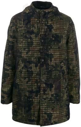 Daniele Alessandrini camo hooded jacket