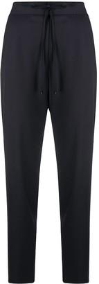 Pt01 Drawstring Tapered Leg Trousers