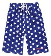 Dudeskin Star Print Long Length Swim Shorts, Boy's