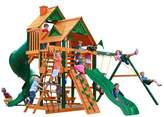 Gorilla Playsets Great Skye I Swing Set Canopy: Wood Roof