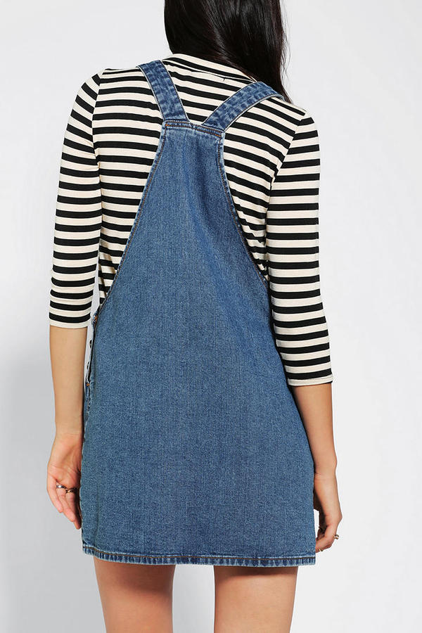 Urban Outfitters Cooperative Front Pocket Overall Dress