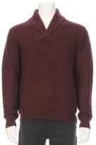 RON HERMAN X C+C Cashmere Shawl Collar Pullover