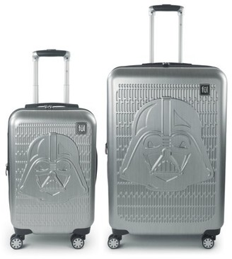 FUL Star Wars Darth Vader Embossed 2 Piece Luggage Set