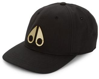 Moose Knuckles 24K Yellow Goldplated Logo Baseball Cap