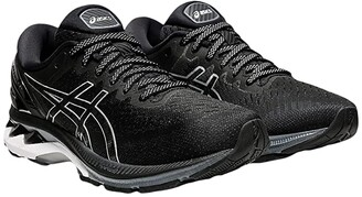 Asics GEL-Kayano(r) 27 (Black/Pure Silver) Women's Shoes