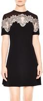 Sandro Kyra Lace-Inset Dress