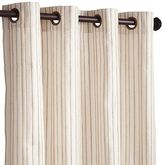 """Pier 1 Imports Jute Striped Ivory 108"""" Curtain"""