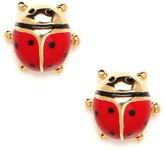 Red Ladybug Studs