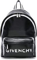 Givenchy Small Leather Graffiti Print Backpack