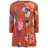 Oilily OililyRed Brushed Bloom Tuliette Jersey Dress