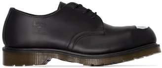 Raf Simons x dr.martens steel toe shoes