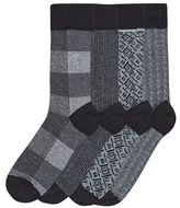Burton Burton 4 Pack Monochrome Design Socks