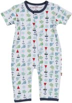 Magnificent Baby 'Nantucket' Union Suit (Baby) - Blue-9 Months