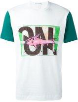Comme des Garcons 'on' print T-shirt