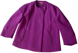 Miu Miu Purple Jacket for Women