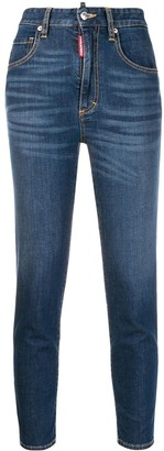 DSQUARED2 Twiggy cropped jeans