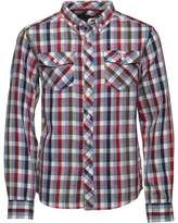 Ben Sherman Junior Boys Long Sleeve Shirt Racing Red