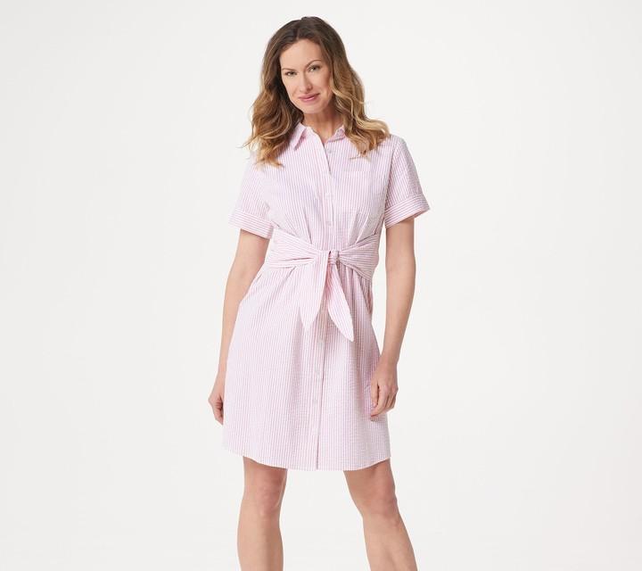 42bae46181a90 Petite Shirt Dress - ShopStyle